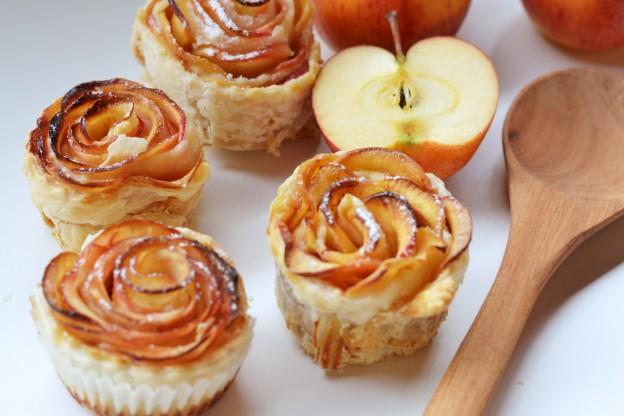 Apfel-Zimt Rosen