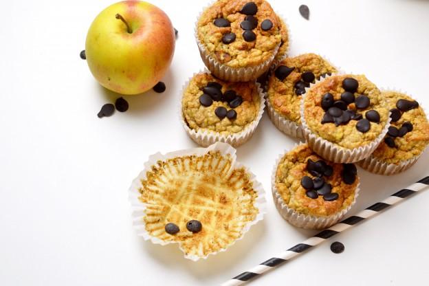 Apfel-Vanille Muffins